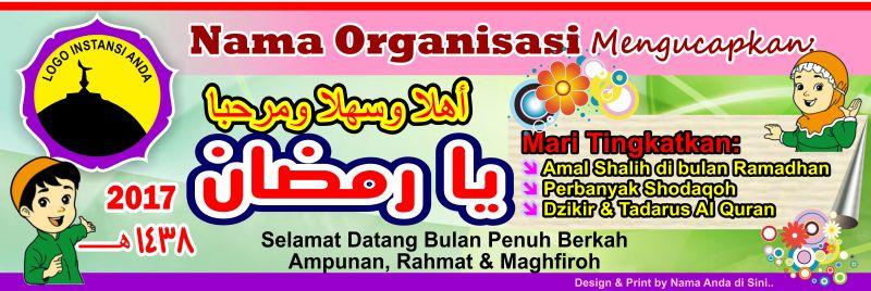 Desain Spanduk Banner Free Download cdr - Web Media Belajar